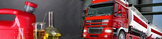 грузовик с дизтопливом