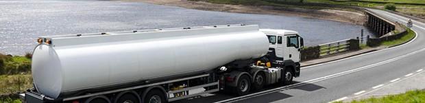 бензовоз с дизельным топливом