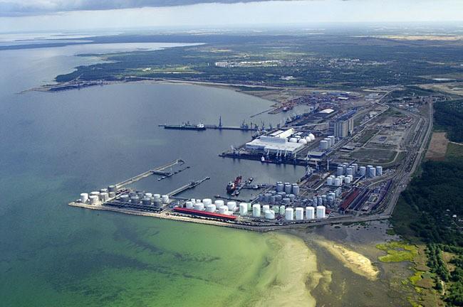 Запуск комплекса по производству азота в порту Усть-Луга