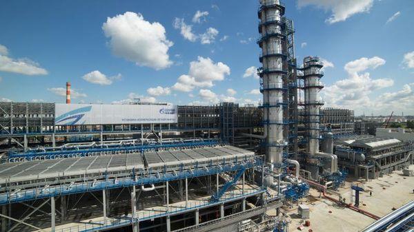 МНПЗ установка легкой нафты