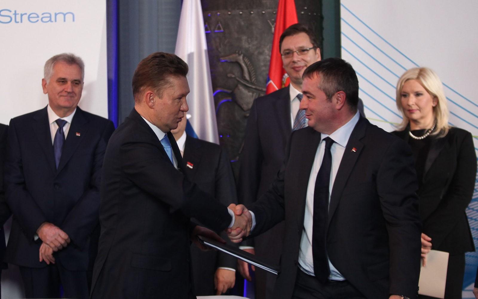 Алексей Миллер и Душан Баятович