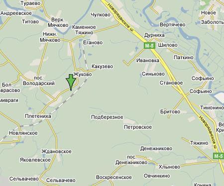 Схема проезда Володарская ЛПДС