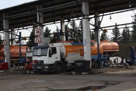Нефтебаза Солнечногорская наливные стояки