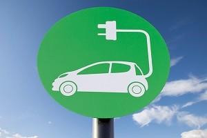 Знак электромобиля.