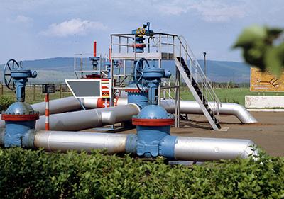 Иллюстрация трубопровода Дружба, на котором произошло загрязнение топлива